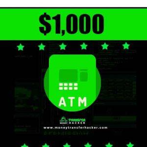 $1,000 Blank ATM Hack