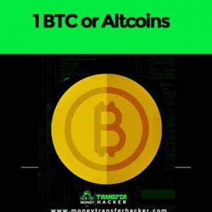 1 BTC or Altcoins Transfer