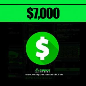 $7,000 Cash App Transfer