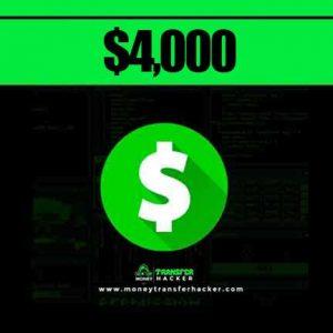 $4,000 Cash App Transfer