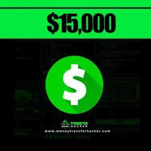$15,000 Cash App Transfer