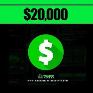 $20,000 Cash App Transfer