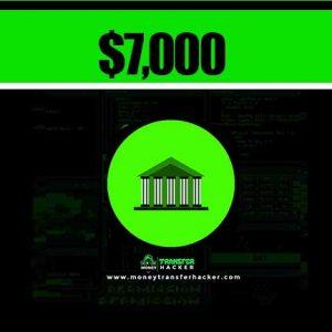 $7,000 USD Bank Transfer Hack