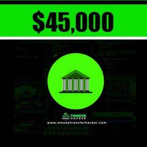 $45,000 USD Bank Transfer Hack